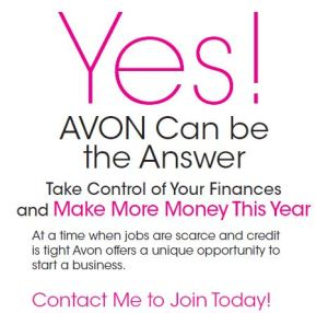 Join Avon Today--Start your Own Business!