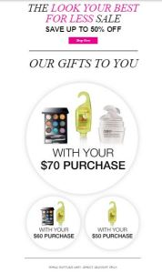 FREE Gifts with AVON Orders