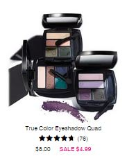 true color eyeshadow quad