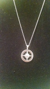 Avon Sterling Silver Journey Necklace