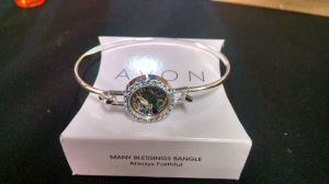"Many Blessings Bangle ""Always Faithful"""